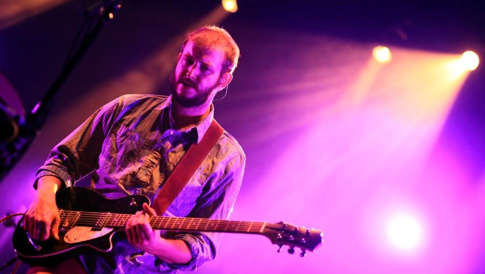19/ Konzert: Bon Iver, SŠnger und Gitarrist Justin Vernon in der Berliner C-Halle am 01.11.11, Folk, Pop, Songwriter, Live,