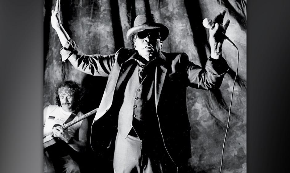 83. John Lee Hooker:  Nicht der einzige Blues-Sänger, der so klang, als würde der Teufel von seinen Stimmbändern senden. A