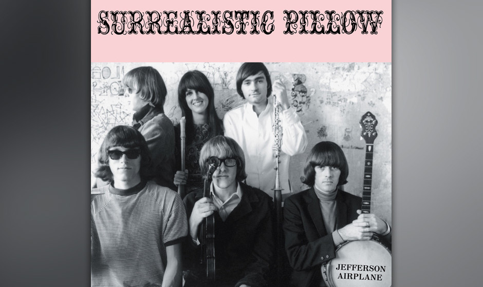 19. Jefferson Airplane - Surrealistic Pillow (1967)