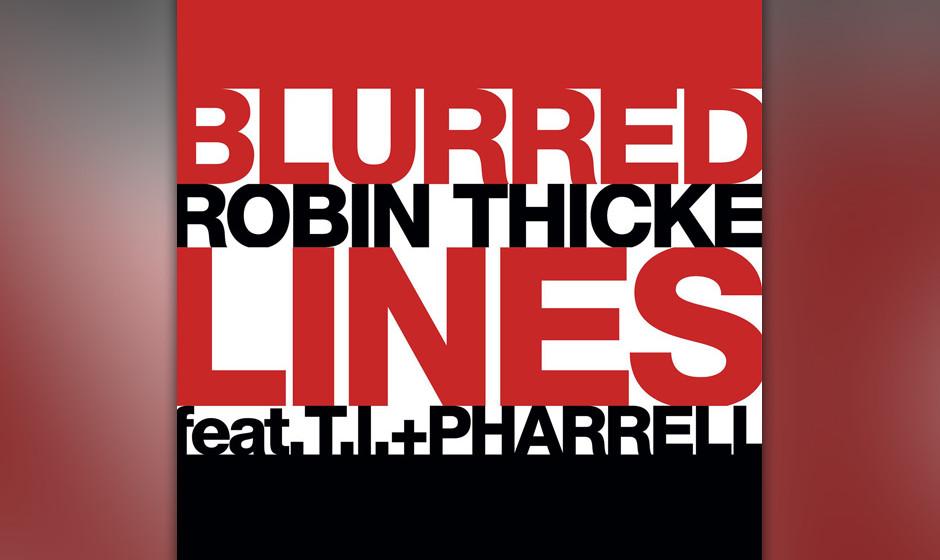 """Platz 10: Robin Thicke feat. T.I. & Pharrell – """"Blurred Lines"""""""
