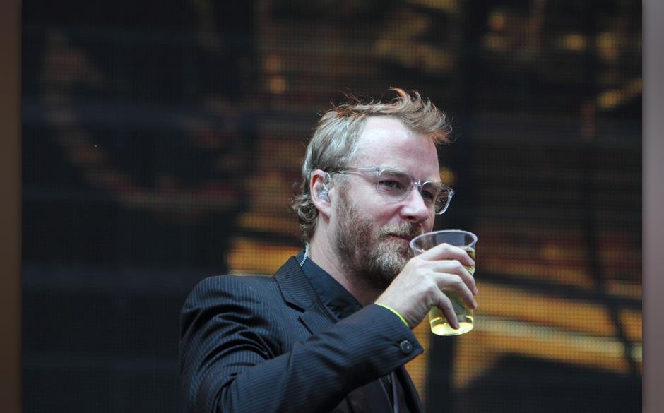 ME präsentiert (u.a.): The National live. Prost, Matt!