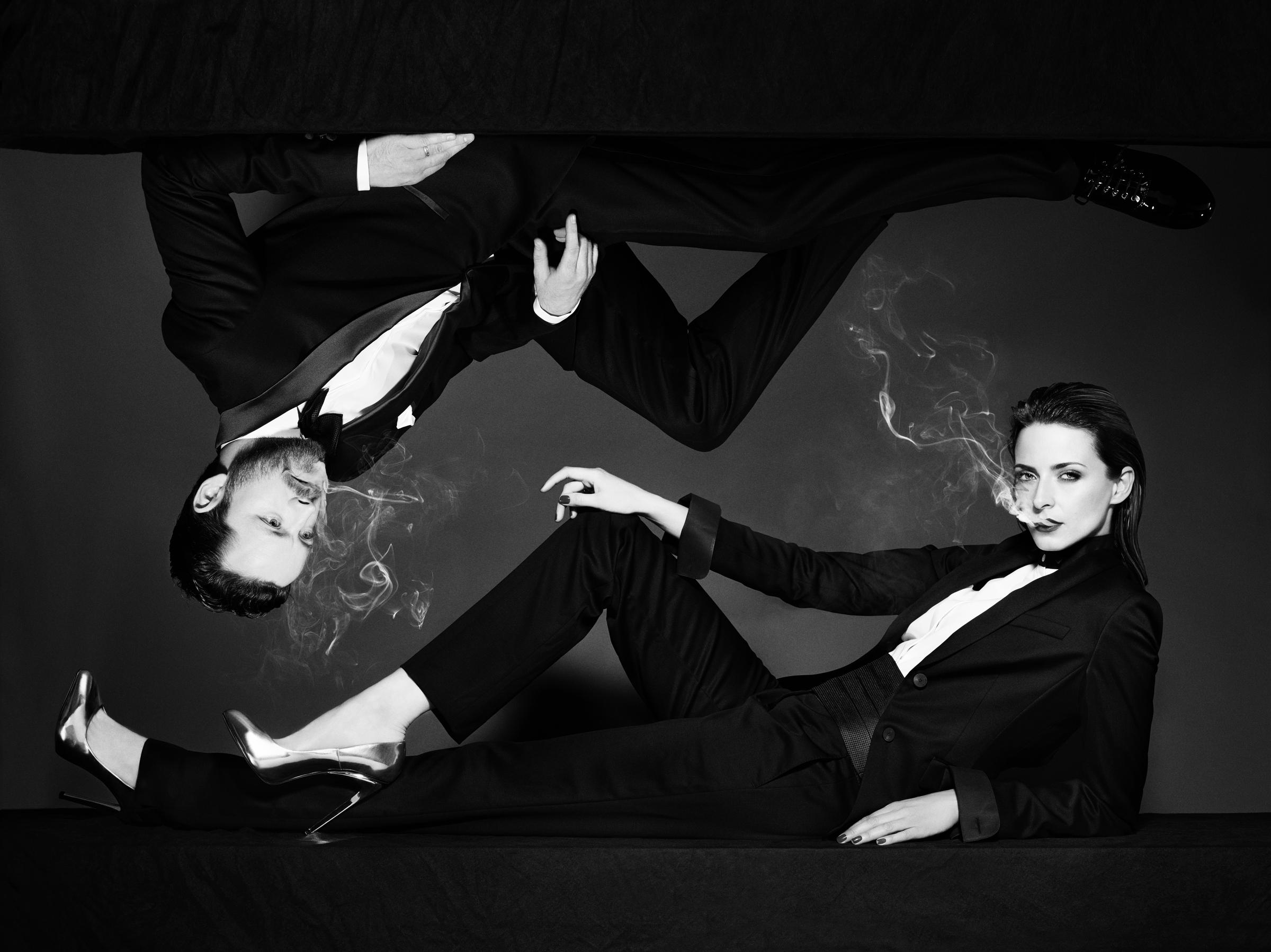 Eva Padberg und Niklas Worgt sind eigentlich Nichtraucher...