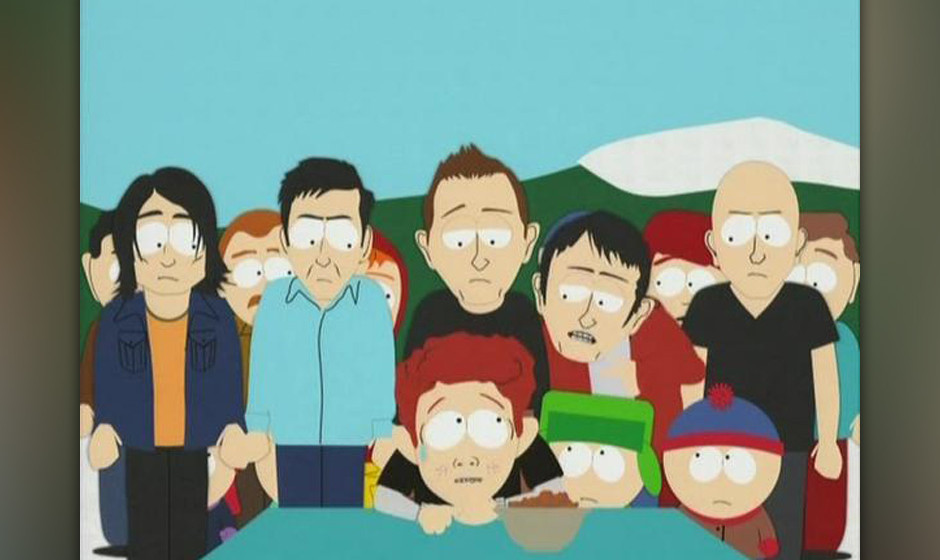 Radiohead zu Gast in 'South Park'