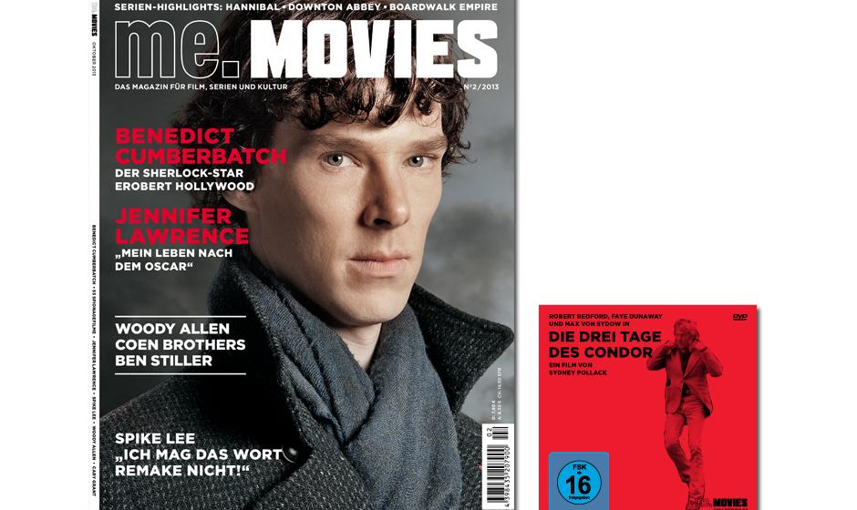 Die zweite Ausgabe ME.MOVIES - ab 24. Oktober 2013 am Kiosk