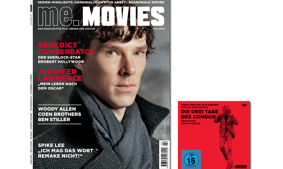 Die zweite Ausgabe ME.MOVIES - jetzt am Kiosk, im App Store und als Abo erhältlich!