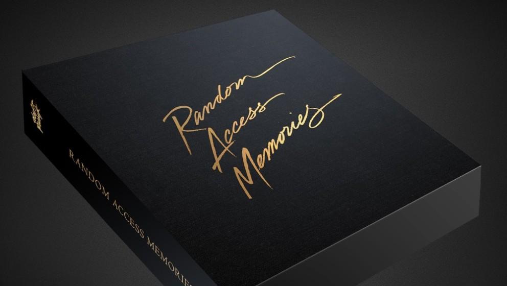 Daft Punks Deluxe-Boxset zu RANDOM ACCESS MEMORIES.