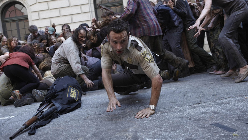 Szene aus 'The Walking Dead'