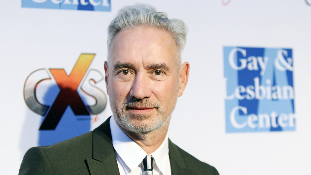 LOS ANGELES, CA - OCTOBER 19:  Roland Emmerich arrives at 'An Evening Under The Stars' benefiting the L.A. Gay & Lesbian