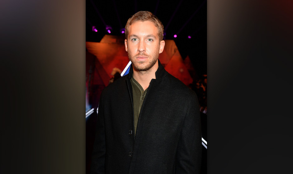 AMSTERDAM, NETHERLANDS - NOVEMBER 10:  Calvin Harris attends the MTV EMA's 2013 at the Ziggo Dome on November 10, 2013 in Ams