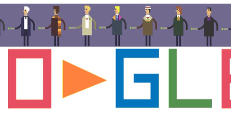 Ab morgen offiziell online, heute schon zum Testen auf der Google-Doodle-Seite: Die Eröffnungssequenz....