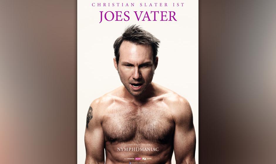 Christian Slater ist Joes Vater