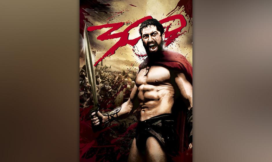 """Das offizielle Filmposter zu """"300""""..."""