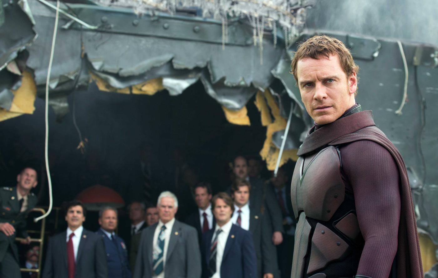 Hat er etwa JFK ermordet? Erik Lehnsherr alias Magneto (Michael Fassbender) im neuen 'X-Men'