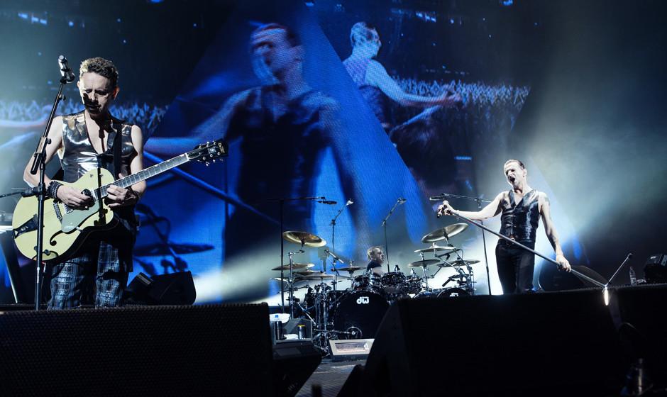 Depeche Mode am 25. November 2013 in Berlin. Oliver Götz war für uns auch vor Ort.