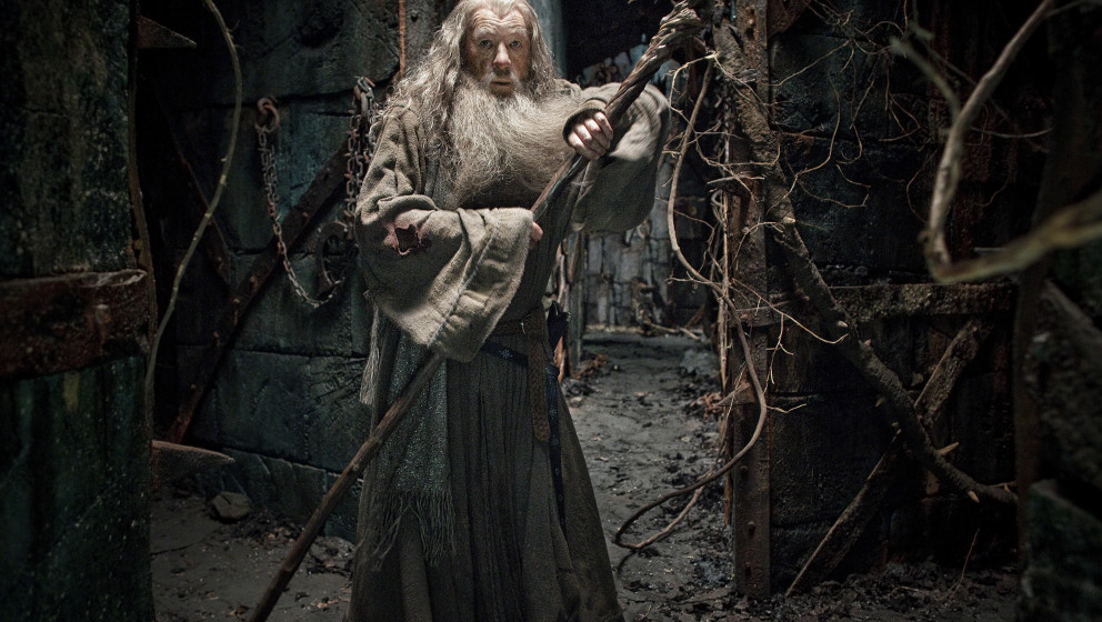 Selbstverständlich auch in Teil zwei mit von der Partie Ian Mc Kellen als Gandalf