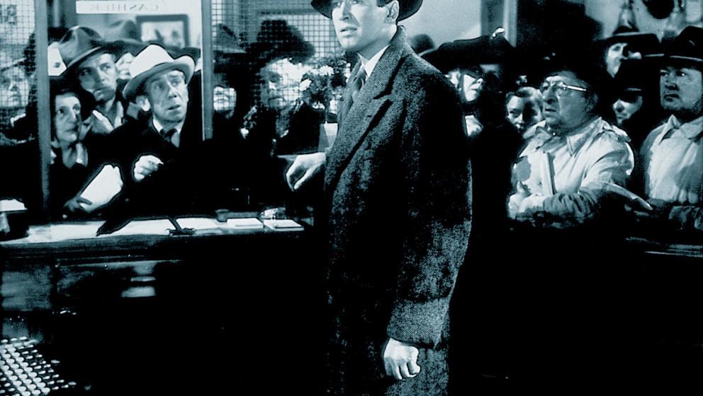James Stewart in seiner vielleicht legendärsten Rolle als George Baley