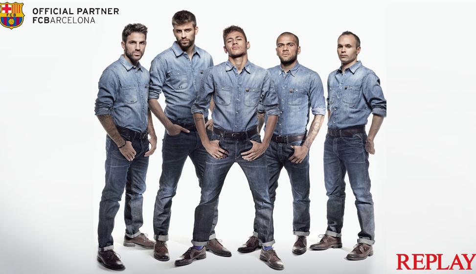 Die Mannschaft des FC Barcelona sowie ihre Mitarbeiter werden ab sofort von einer Denim-Marke gesponsort.