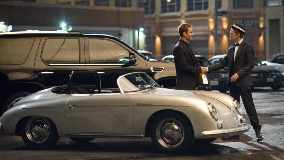 Paul Walker (left) and Hayden Christensen star in Screen Gems' action thriller TAKERS.