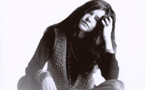 """17. """"Janis is alive!""""  Ein weiteres Mitglied des """"Club 27"""", Janis Joplin, starb 1970 an einer Überdosis Heroin. Die"""