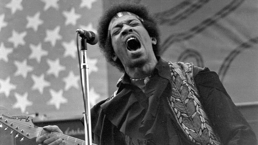 UNSPECIFIED - CIRCA 1960:  Photo of Jimi Hendrix  (Photo by Larry Hulst/Michael Ochs Archives/Getty Images)