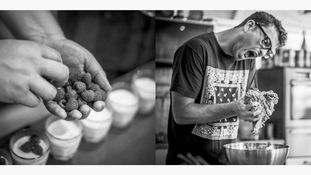 'Kochen Unplugged' heißt das Kochbuch von Christoph Brand, das sich den Essgewohnheiten von Stars wie Marteria, Max Herre un