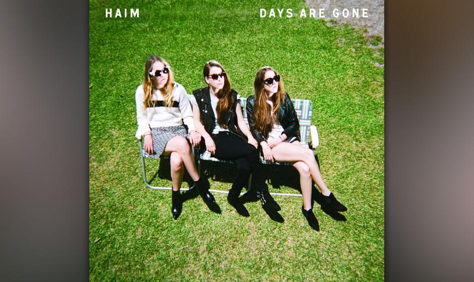 Das Cover zu Haims Album DAYS ARE GONE zeigt eine rosige Zukunft für die Mädels.