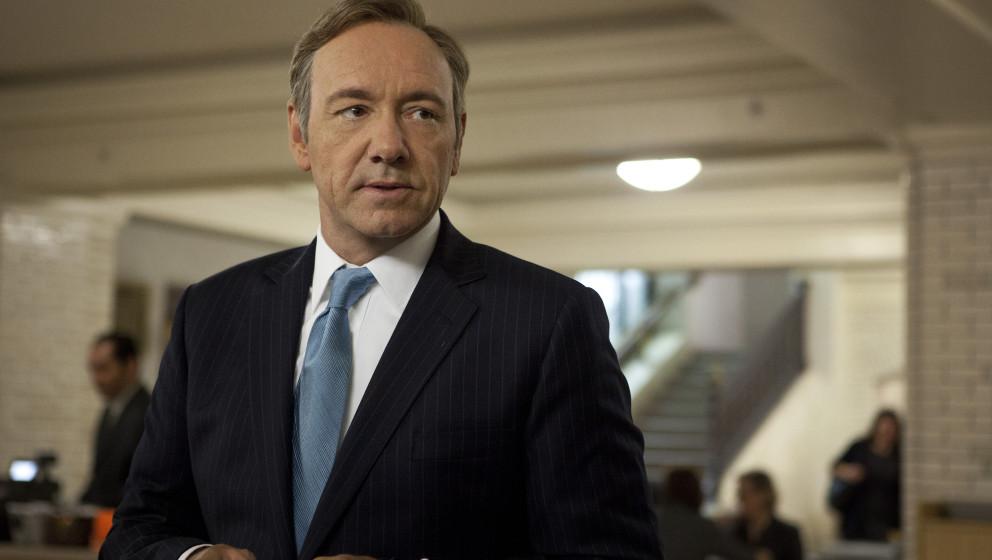 """Bissig, zynisch und laut Netflix ein voller Erfolg: David Finchers und Kevin Spaceys pechschwarze Politserie """"House Of Card"""
