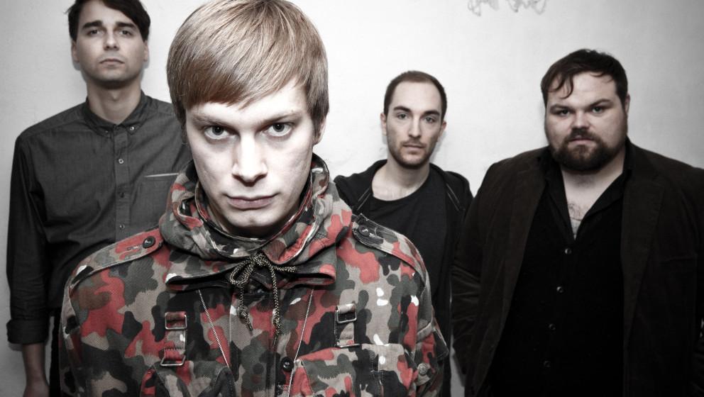 Die Band Messer. Ihr zweites Album DIE UNSICHTBAREN ist im November 2013 erschienen.