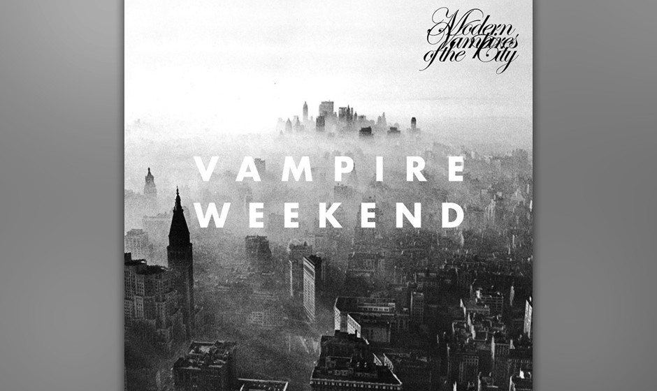 20. Vampire Weekend – MODERN VAMPIRES OF THE CITY