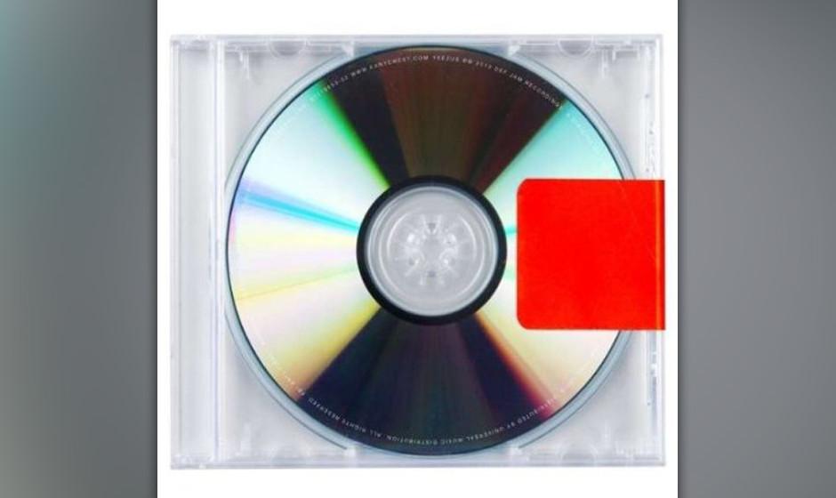 3. Kanye West - YEEZUS