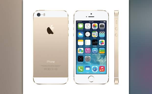 Auch in 2013 stelle Apple neue Geräte vor, wie das neue Luxus-iPhone 5s, ...
