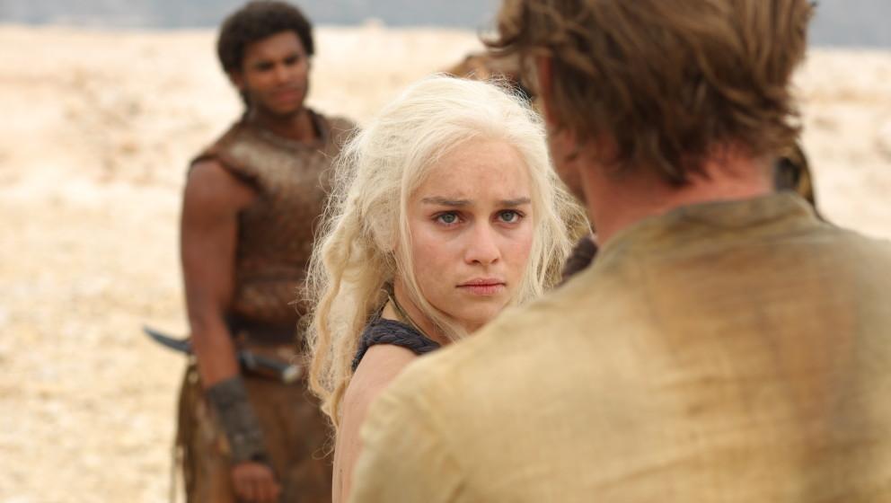 HBO's  'Game of Thrones' season 2Daenerys- Emilia ClarkeJorah-  Iain GlenDoreah-  Roxanne McKeeIrri-  Amrita AchariaKav