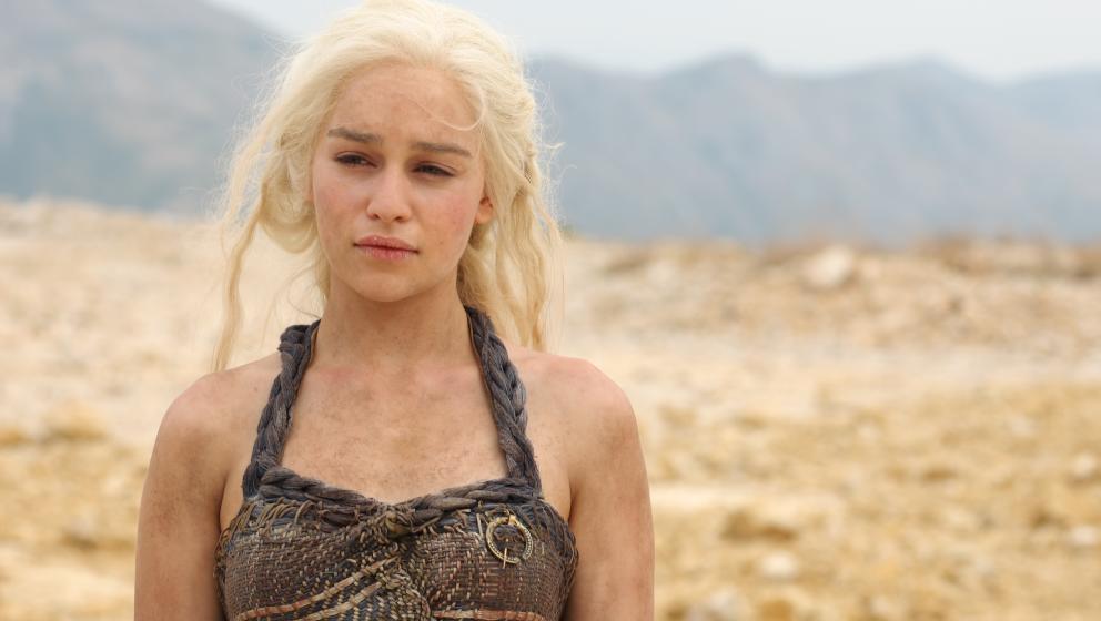 """In ihrer Paraderolle als Khaleesi im """"Game Of Thrones"""": Emilia Clarke"""