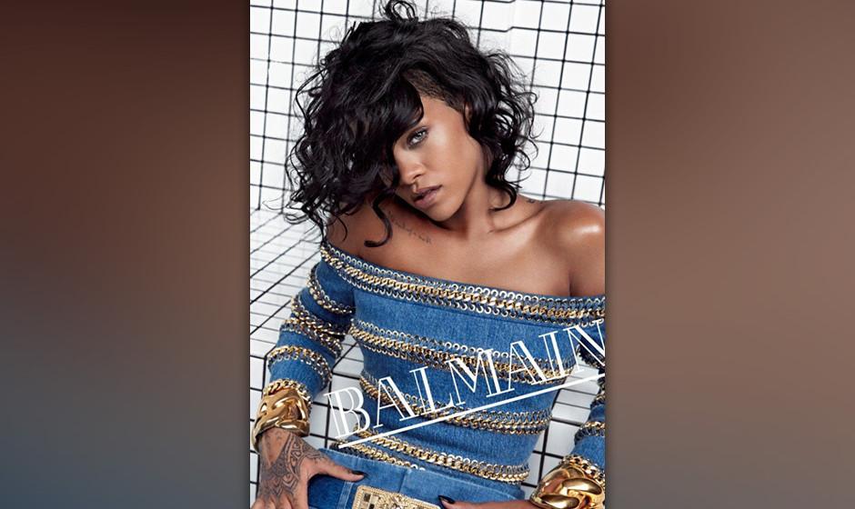Rihanna ist das neue Testimonial für Balmain.