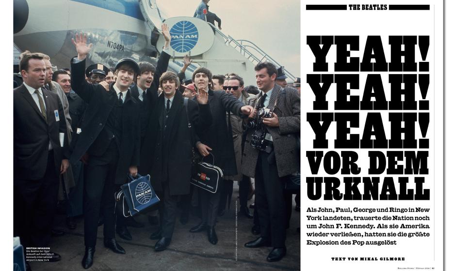 Beatlemania! Vor 50 Jahren befanden sich John Lennon, Paul McCartney, George Harrison und Ringo Starr auf ihrem Weg zu den er