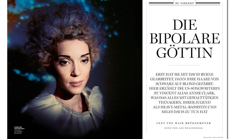 Als Partnerin von David Byrne wurde sie bekannt. Nun hat sich Annie Clark neu erfunden: Sie ist jetzt - sie selbst. Maik Brü