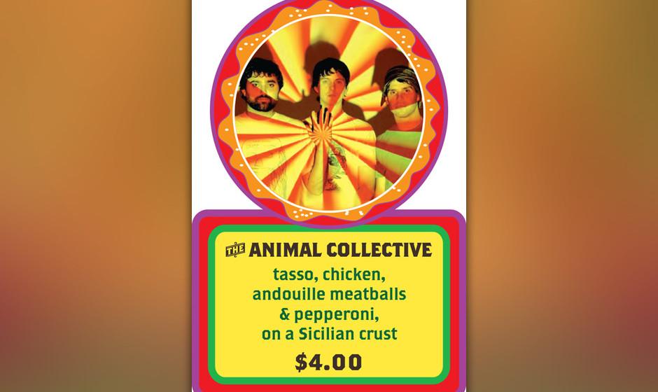 Auf 'The Animal Collective' teilen sich Hühnchen, Schinken, Pepperoni-Salami und Fleischbällchen den Platz auf dem Hefeteig