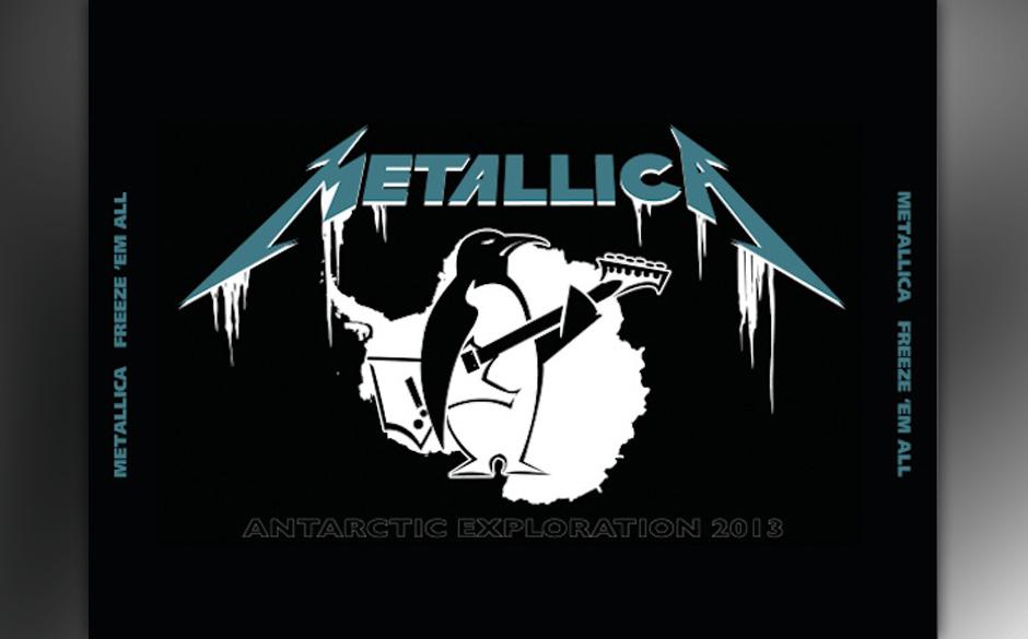 Das Live-Album zum Antarktis-Konzert von Metallica: FREEZE 'EM ALL