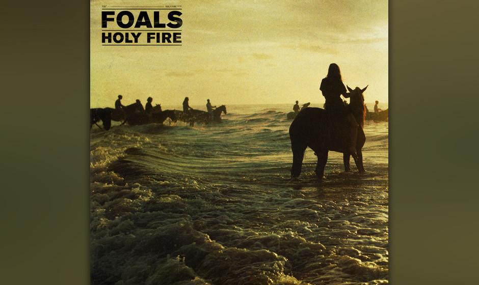 19. Foals - HOLY FIRE