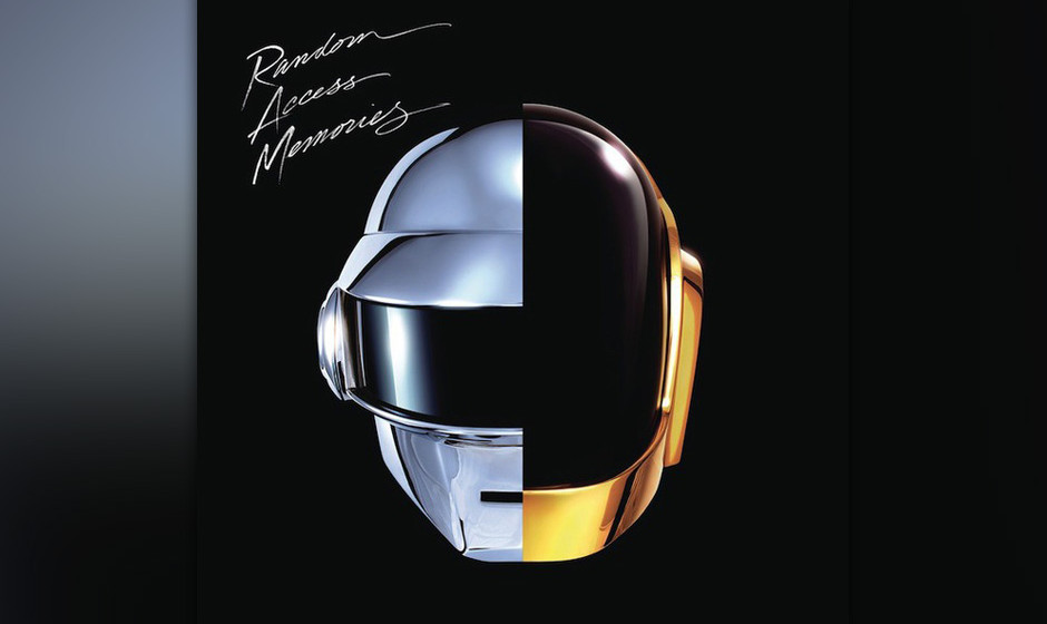 9. Daft Punk - RANDOM ACCESS MEMORIES