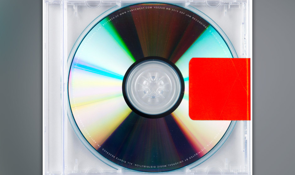 8. Kanye West - YEEZUS
