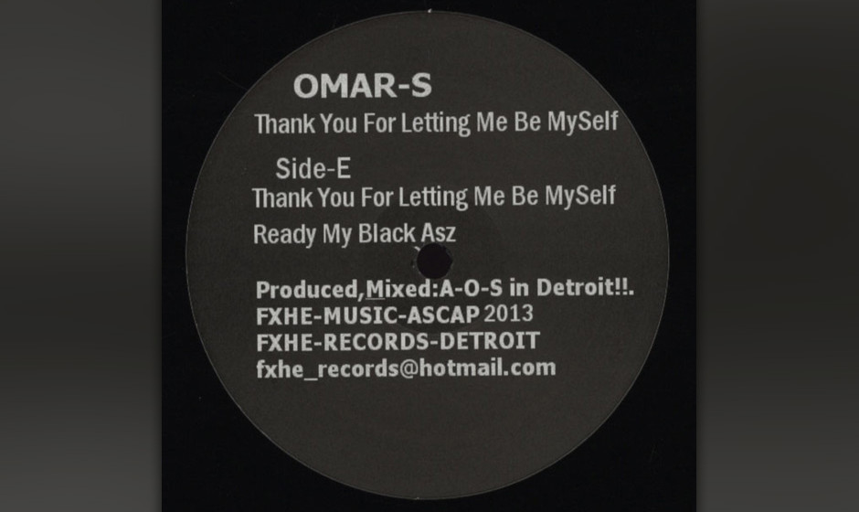 81. Omar-S - THANK YOU FOR LETTING ME BE MYSELF