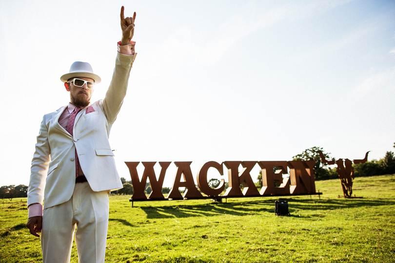 Jan Delay veröffentlicht seine neue Single 'Wacken'.