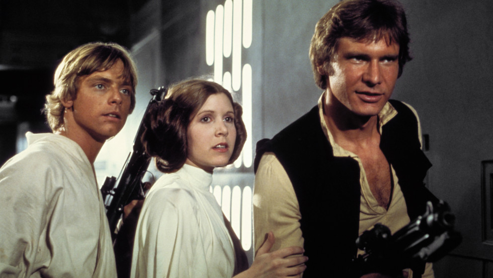 """Luke, Leia und Han: Oldschool-Trio könnte """"Star Wars VII"""" anführen."""