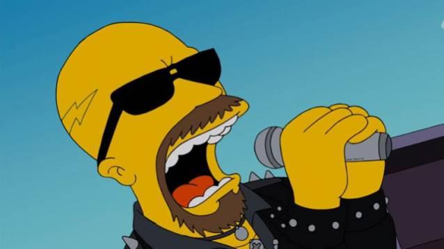Judas Priest bei den Simpsons