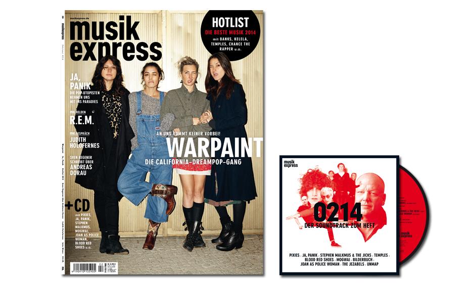 So sieht der Musikexpress 2/2014 aus - CD inklusive