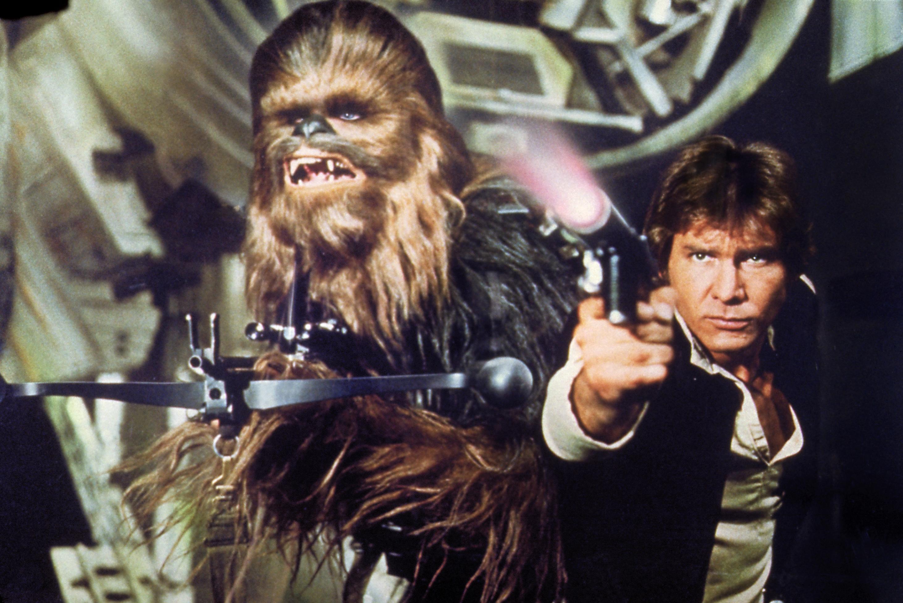 """Han Solo und Chewbacca sind im neuen """"Star Wars"""" auch wieder mit von der Partie."""