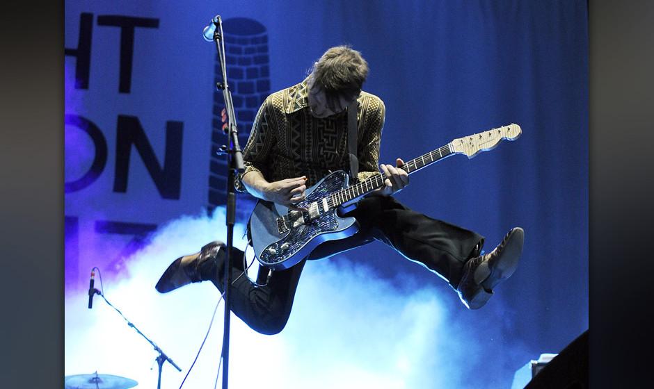 APA14165698 - 15082013 - ST. P÷LTEN - ÷STERREICH: S‰nger und Gitarrist Alex Kapranos von der Band 'Franz Ferdinand' w‰h