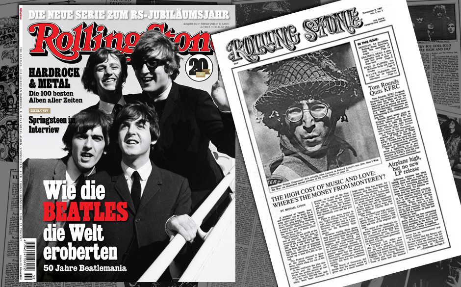 Der ROLLING STONE im Februar –mit einem besonderen Special: der Nachdruck der legendären ersten US-Ausgabe von 1967.