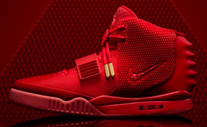 'Air Yeezy 2'-Sneaker von Nike